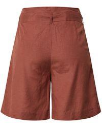 ONLY Shorts 'VIVA LIFE' - Braun