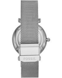 Fossil Uhr - Mettallic