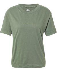 Quiksilver T-Shirt - Grün