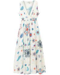 Desigual Kleid 'TAHITI' - Blau