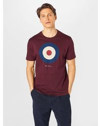 Ben Sherman T-Shirt 'TARGET' - Mehrfarbig