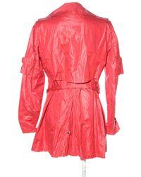 Creenstone Trenchcoat - Rot