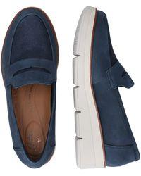 Clarks Sneaker 'Shaylin Step' - Blau