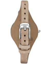 Fossil Quarzuhr »GEORGIA, ES2830« - Braun