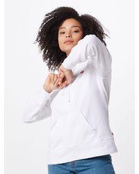 Levi's Sweatshirt 'GRAPHIC SPORT HOODIE' - Weiß