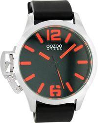OOZOO Uhr 'os054' - Schwarz