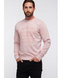 Petrol Industries Sweater - Pink
