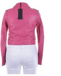 Oakwood Lederjacke / Ledermantel - Pink