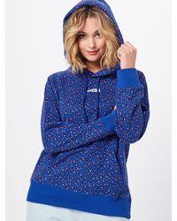 Levi's Sweatshirt 'GRAPHIC SPORT HOODIE' - Blau