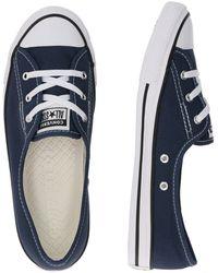 Converse Sneaker 'Star Ballet' - Blau