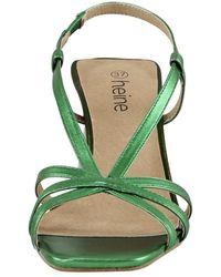 heine Sandalette - Grün