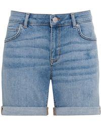 Hallhuber Shorts - Blau