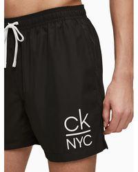 Calvin Klein - Badeshorts 'MEDIUM DRAWSTRING' - Lyst