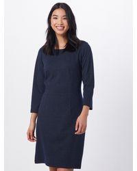 Tom Tailor Kleid 'dress shift structured' - Blau