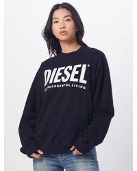 DIESEL Sweatshirt 'F-ANG' - Schwarz