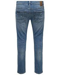 Only & Sons ONSLoom Light Blue Slim Fit Jeans - Blau