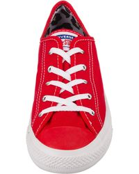 Converse Sneaker 'All Star Dainty Ox' - Rot