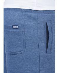 Solid Sweatshorts - Blau