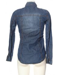 ONLY - Jeanshemd - Lyst