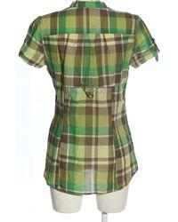Promod Kurzarmhemd - Grün