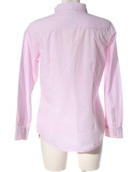 Crew Langarmhemd - Pink
