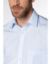 Eterna Langarm Hemd 'COMFORT FIT' - Blau