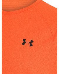 Under Armour Sport-Shirt 'UA Tech 2.0 SS Novelty' - Orange