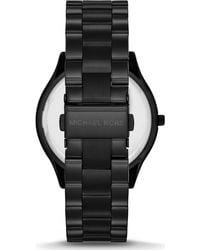 Michael Kors Uhr SLIM RUNWAY MK3221 - Schwarz