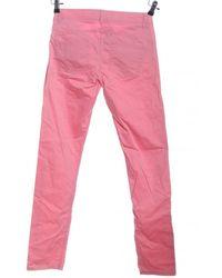 Stefanel Röhrenhose - Pink