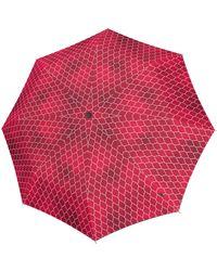 Knirps Regenschirm - Rot
