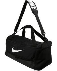 Nike Sporttasche 'BRSLA M DUFF - 9.0' - Schwarz