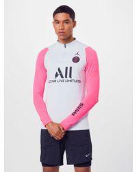 Nike Sportpullover 'Paris Saint-Germain Strike' - Pink