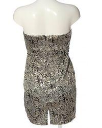 Cotton Club Schulterfreies Kleid - Mehrfarbig