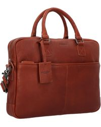 Burkely Aktentasche 'Antique Avery' - Rot