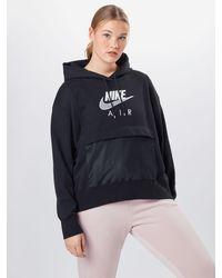 Nike Kapuzensweatshirt - Schwarz