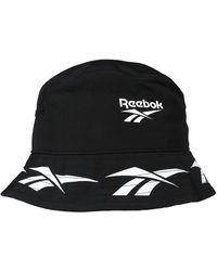 Reebok Hut 'CL Vector Bucket Hat' - Schwarz