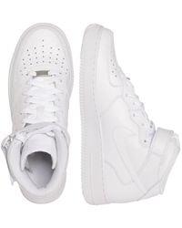 Nike Sneaker mid Air Jordan 1 MID - Weiß