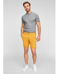S.oliver Shorts - Gelb