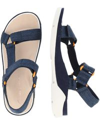 Clarks Sandale 'Tri Sporty' - Blau
