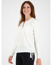 Monari Shirt 'Schluse' - Weiß