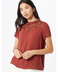 ONLY - Bluse 'First' - Lyst