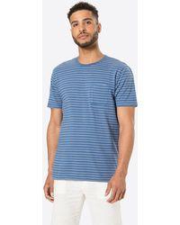 Solid Shirt 'Reyes' - Blau