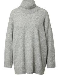 Just Female Pullover - Grau