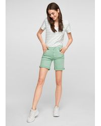 S.oliver Shorts - Grün