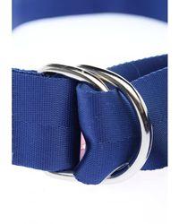 H&M Stoffgürtel - Blau