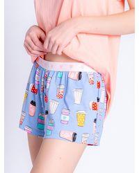 Pj Salvage - Pyjamashorts ' Funny Style ' - Lyst