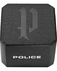 Police Halskette 'SIN' - Grau