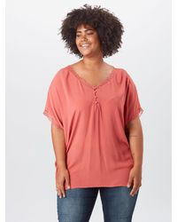 Only Carmakoma Bluse - Rot