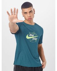 Nike - Sport-Shirt 'Miler Wild Run' - Lyst