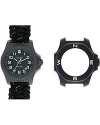 Victorinox Uhr 'I.N.O.X. Carbon' - Schwarz